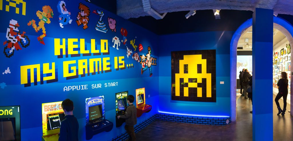 Photo : Lionel Belluteau - Hello My Game Is, Invader