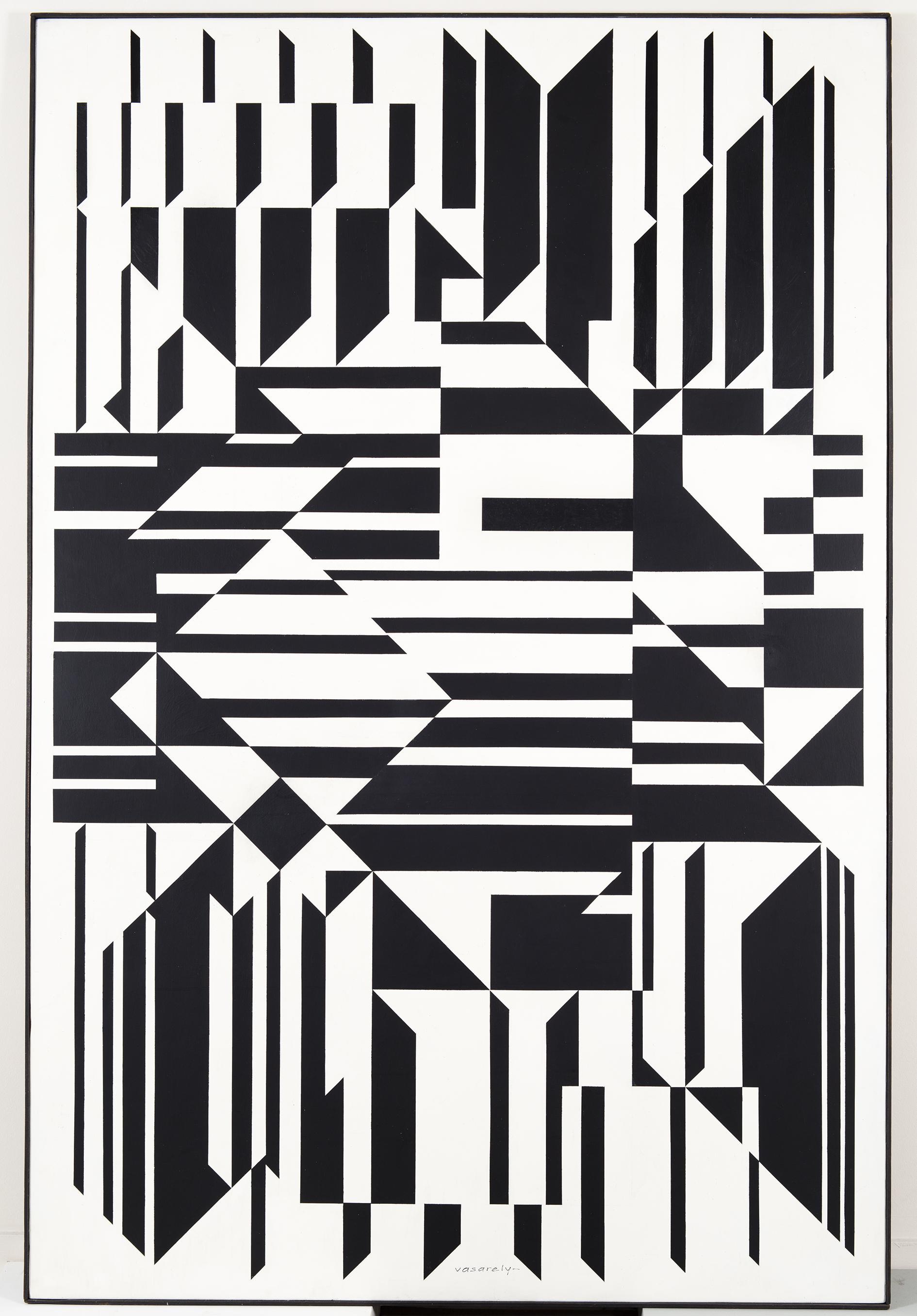 Tilla, 1958, Victor Vasarely © fabrice lepeltier