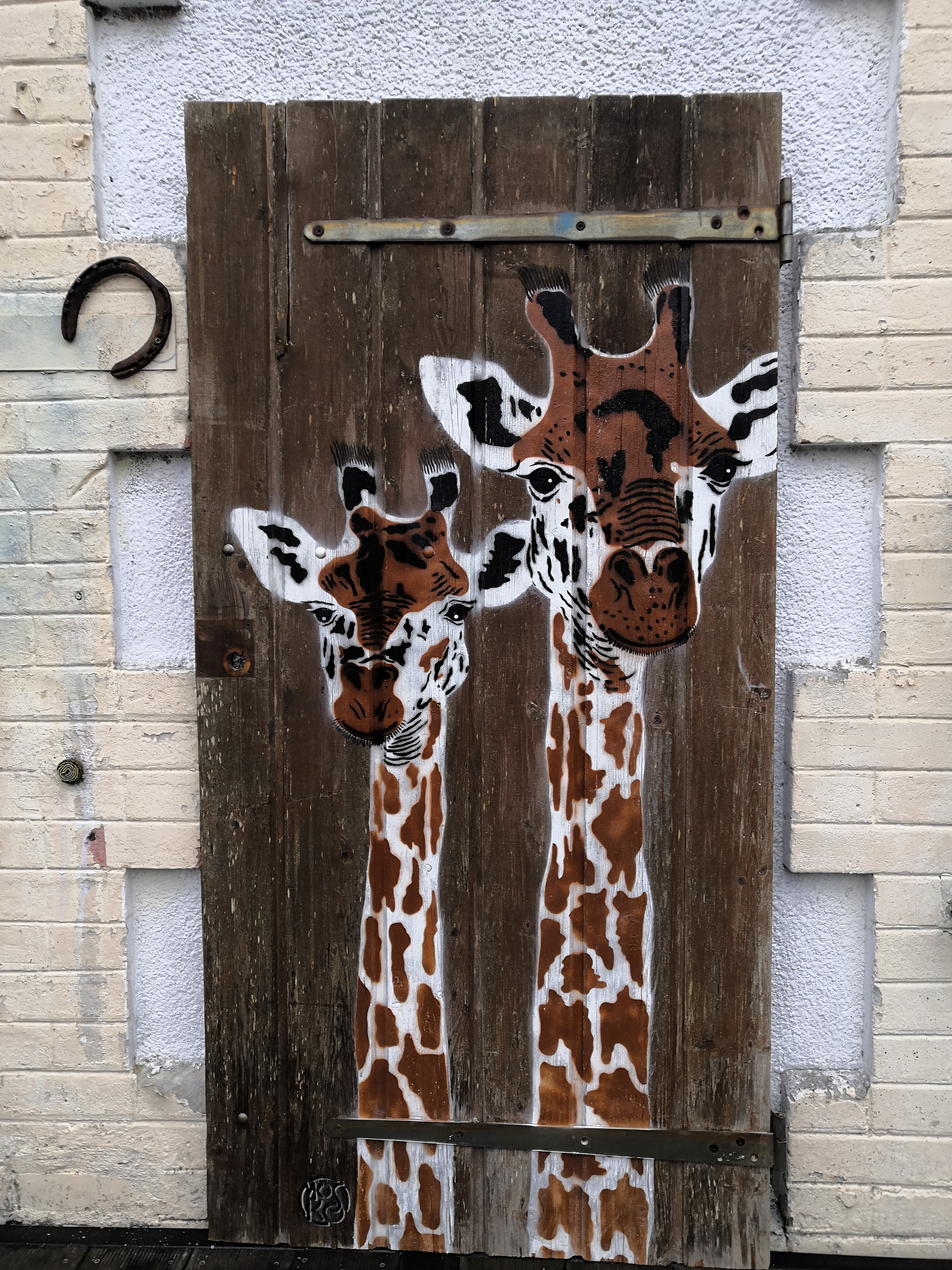 Mosko _ Deux girafes 2015